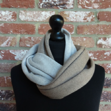 Hope Infinity Scarf Sesame & Light Sand